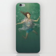 Dancing With Jellyfish iPhone Skin