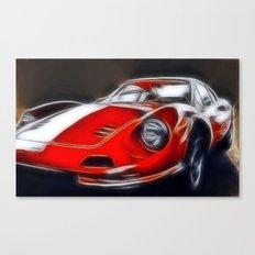 the legendary DINO GT Canvas Print