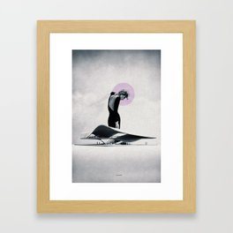 Nothing is easy ... Framed Art Print