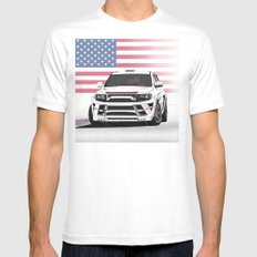 Jeep Cherokee SRT Artrace body-kit Mens Fitted Tee White MEDIUM