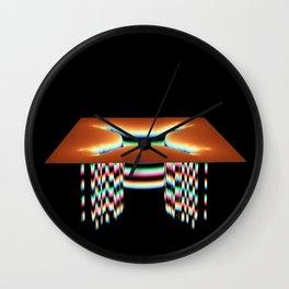 Sink Hole Wall Clock