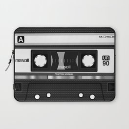 Compact cassette | 90's | 90's music | Cassette tape | Punk Laptop Sleeve
