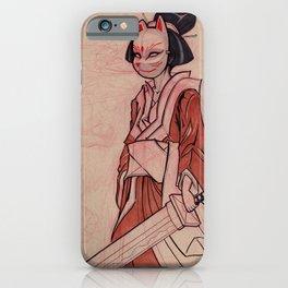 Kitsune Mask iPhone Case