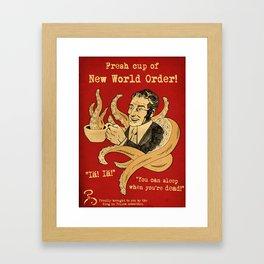 Cup of Doom Framed Art Print