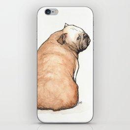 Bulldog iPhone Skin