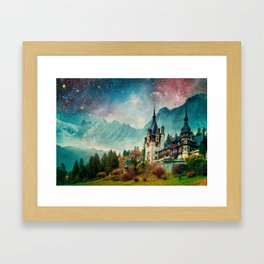 Faerytale Castle Framed Art Print