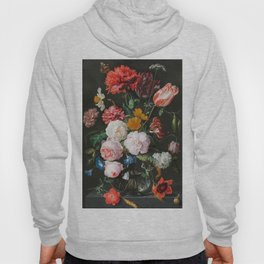 Dutch Golden Age Floral Painting Hoody