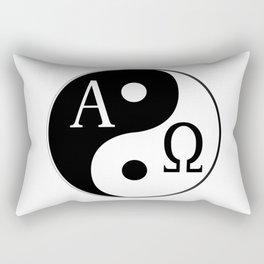 Begining to End Rectangular Pillow
