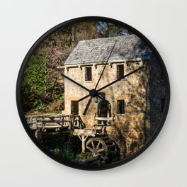 The Ole Mill Wall Clock