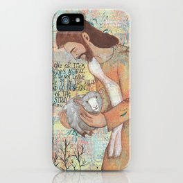 Shepherd by patsy paterno iPhone Case
