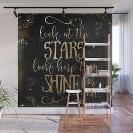 See How The Stars Shine For You Wall Mural