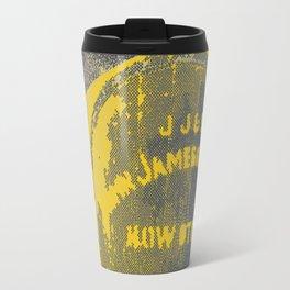 Jameson barrel art print Travel Mug