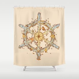 A Life Full of Adventures Shower Curtain