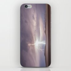 Lightning Strike, Black Rock Desert, NV iPhone & iPod Skin