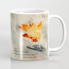 Welcome the New Year Coffee Mug