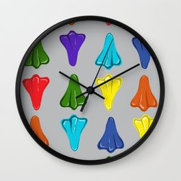 Candy // Jetplanes Wall Clock