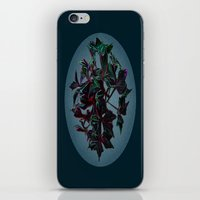 dark side of the moon iPhone & iPod Skins featuring Dark side of the moon by Ordiraptus