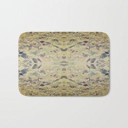 Antiqued Leaves Bath Mat