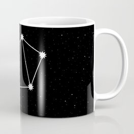 Libra Star Sign Night Sky Coffee Mug