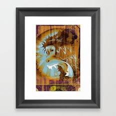 Ma Ka Ke Framed Art Print