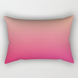 GENTLE SOUL - Minimal Plain Soft Mood Color Blend Prints Rectangular Pillow