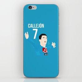 Callejón - Napoli iPhone Skin