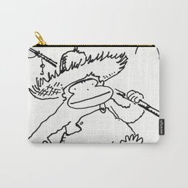 Ape Goes Fishing Carry-All Pouch