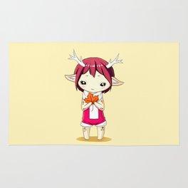 Deer Girl Rug