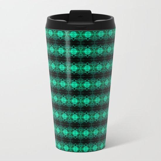 Oregon Green Metal Travel Mug