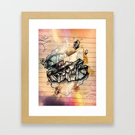 geodoodle Framed Art Print