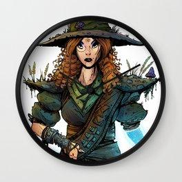 Druid - Original Character Design Wall Clock
