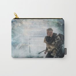 Let The Silence Speak Carry-All Pouch