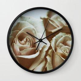 Fading Beauties Wall Clock