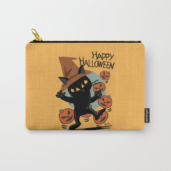 Cat Halloween Carry-All Pouch