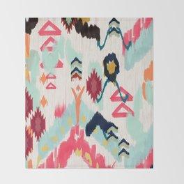 Bohemian Ethnic Painting Throw Blanket