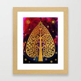 Bodhi Tree0501 Framed Art Print