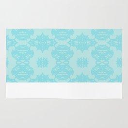 Blue Pattern 1 Rug