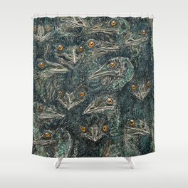 Emus Shower Curtain