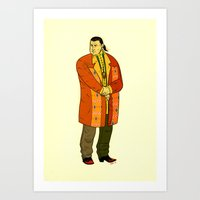 Seagal Art Print