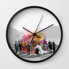 Conjurers Wall Clock