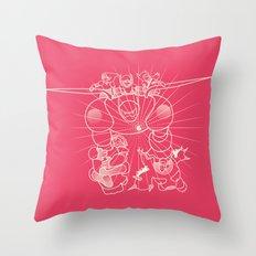 Flight BH6 Throw Pillow
