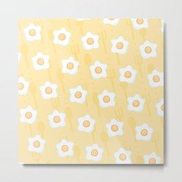 No, not flowers, eggs! Metal Print