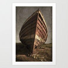 One Proud Boat Art Print