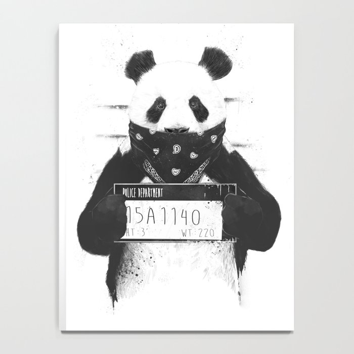 Bad panda Notebook