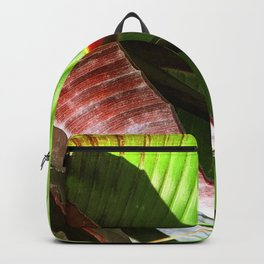 Exotic, Exquisite Avant-Garde Leaves Backpack