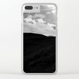 Hill Climbing Clear iPhone Case