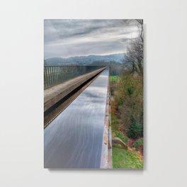 Llangollen Canal Metal Print