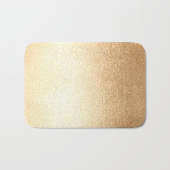 Simply Golden Copper Sun Bath Mat