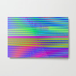 Play with stripes  16 Metal Print