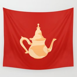 MADE IN MOROCCO #09-THE TEAPOT Wall Tapestry